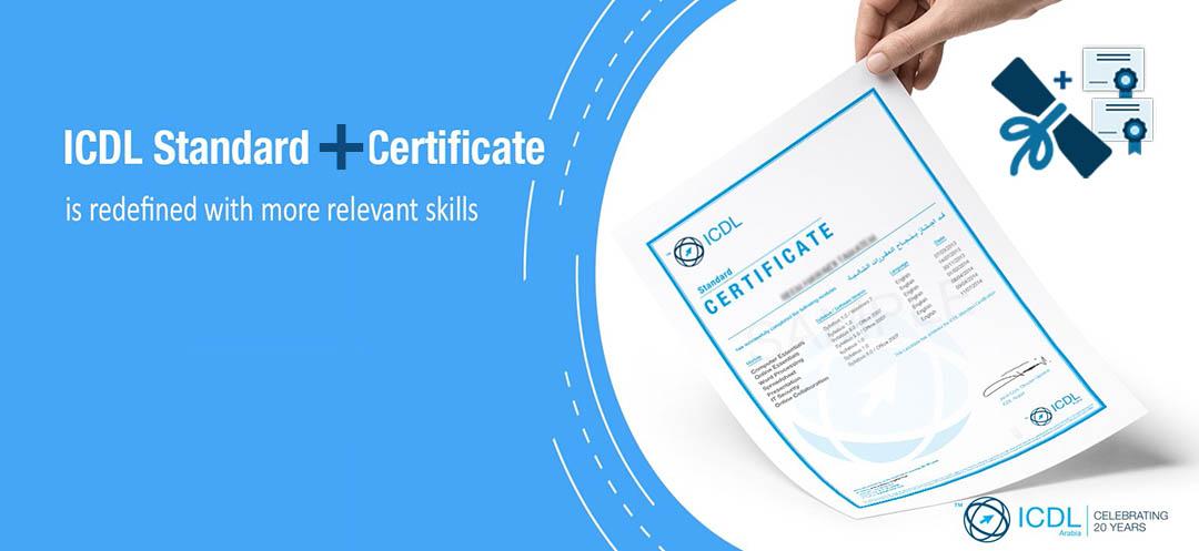 icdl standard certification plus certificate computer training skills tech hi